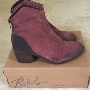 NWT- Rebels Ankle Boots